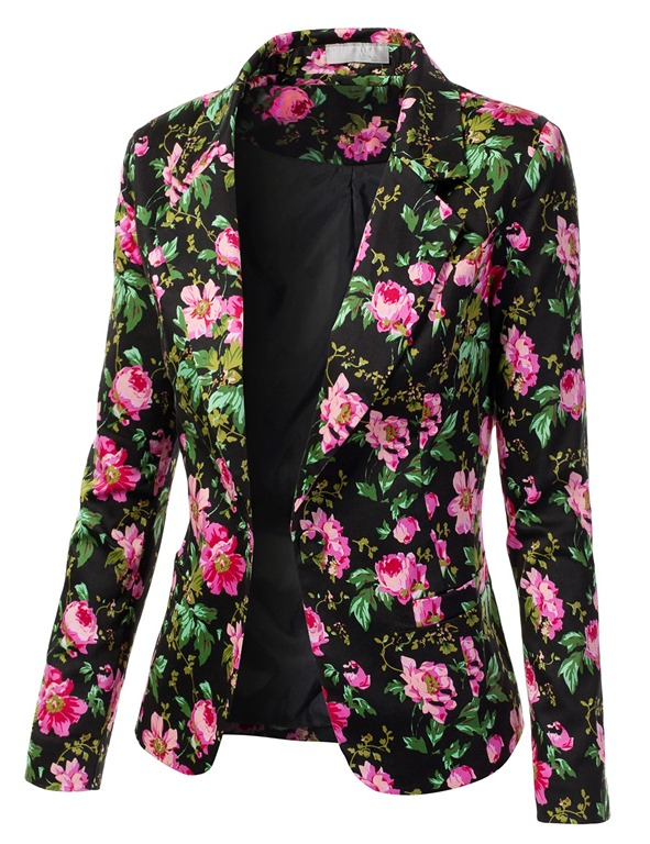 A Great Mens' Floral Blazer for Summers of 2014
