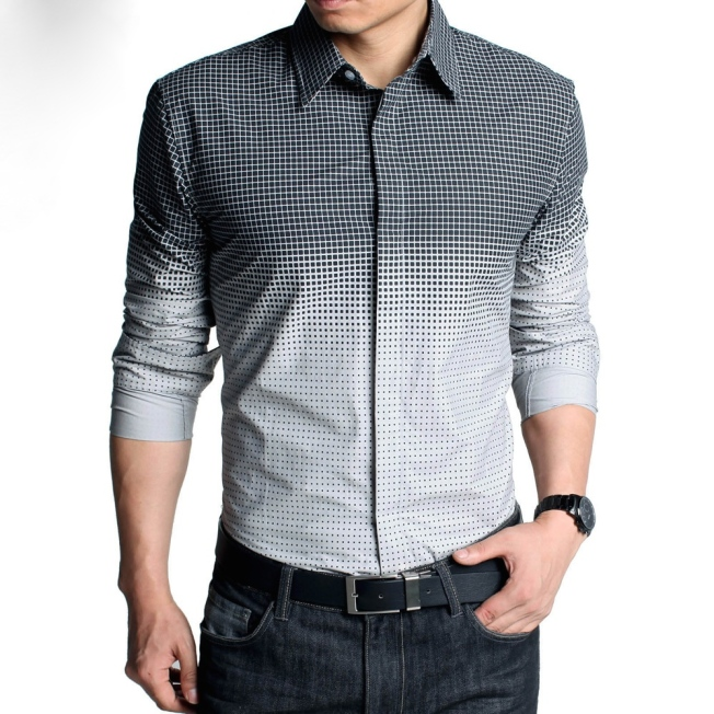 Fashionable Multi-way Printed Shirts for Men